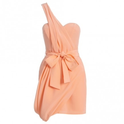 Silk Drape Dress - Sale