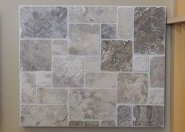 Daltile Paredon Andes Grey Tumbled Travertine (want In Large Format).