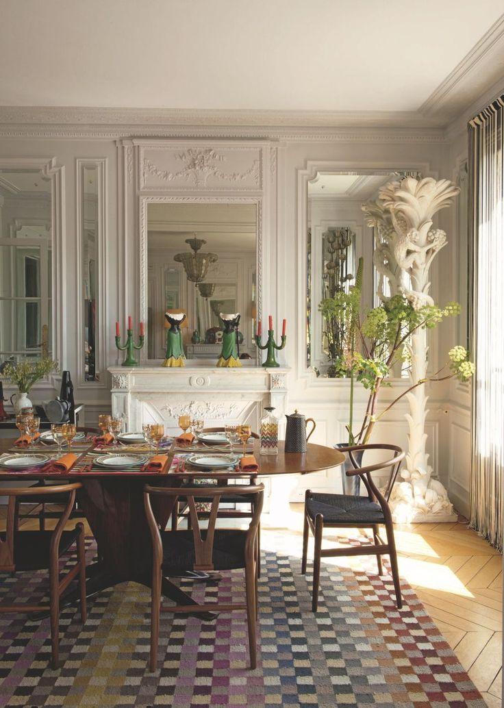 appartement paris original color et design de rosita missoni 1 pinterest la boutique. Black Bedroom Furniture Sets. Home Design Ideas