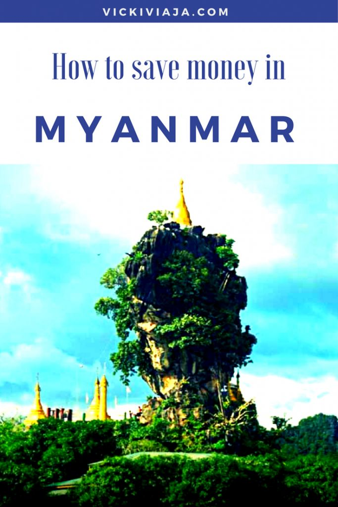 Myanmar on a Budget I How to save money while traveling Myanmar I Myanmar Budget travel I Burma I #budgettravel #Myanmar