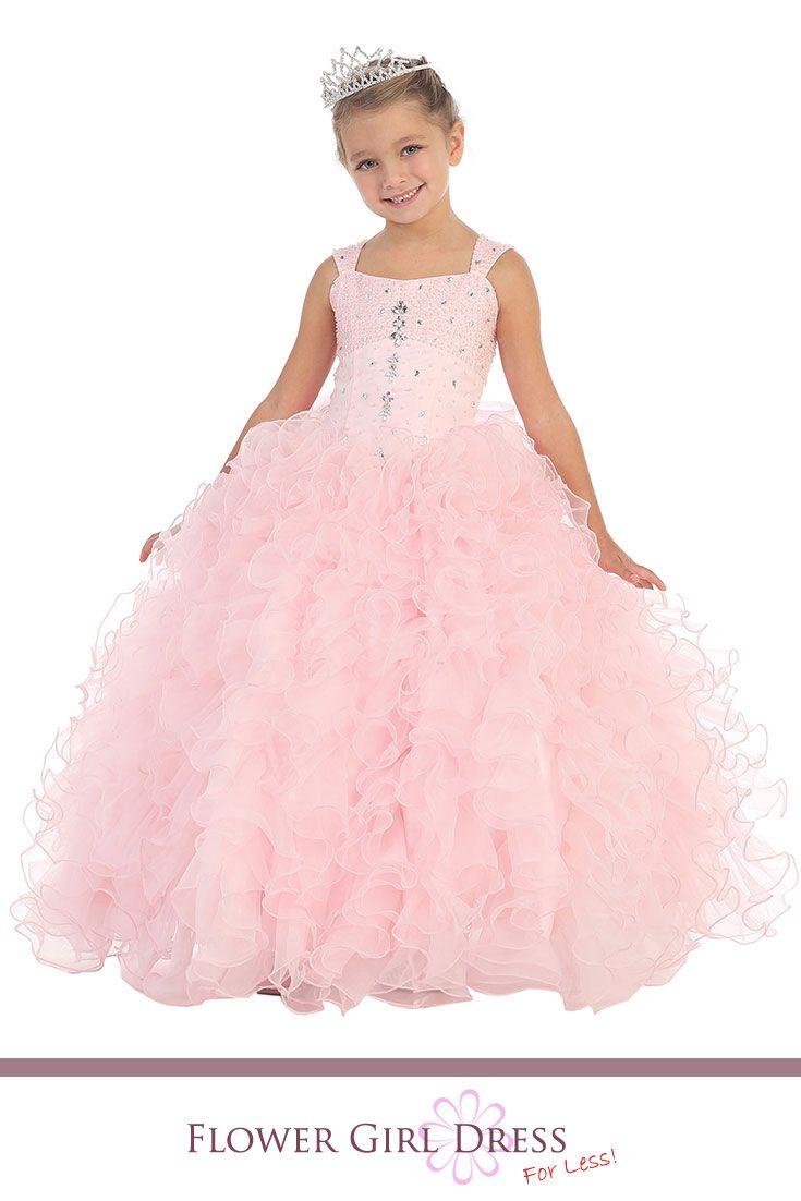 94 best Flower girl dresses images on Pinterest   Flower girl ...