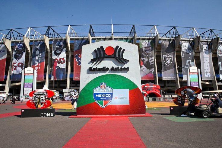 Listo plan de movilidad de CDMX rumbo al NFL Mexico Game 2017