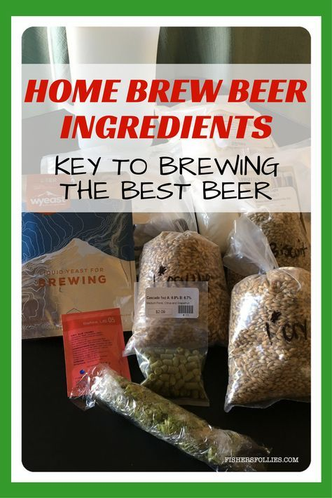 What makes home brew beers taste so unique and better than most store beers? It's the home brew beer ingredients in the beer. Using the freshest home brew beer ingredients is key to brewing the best beer.