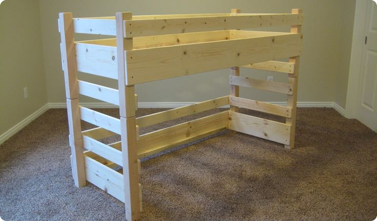 Kids Toddler Loft Beds (Regular fits a Crib Size Mattress; Extended fits IKEA's extended Crib Size Mattress)