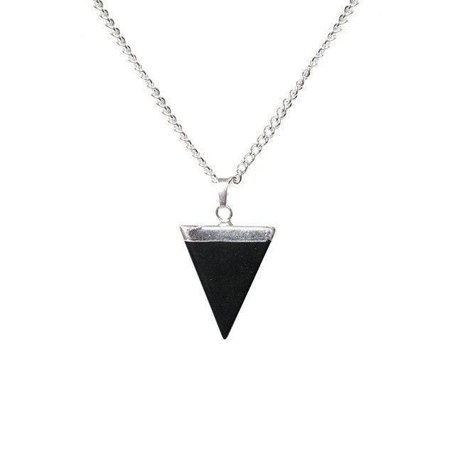 Mad Moonshine Halskette Onyx Triangle