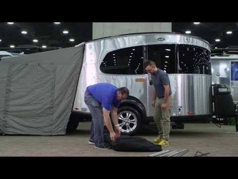 2017 Airstream Basecamp Walkthrough | Small Travel Trailer - YouTube