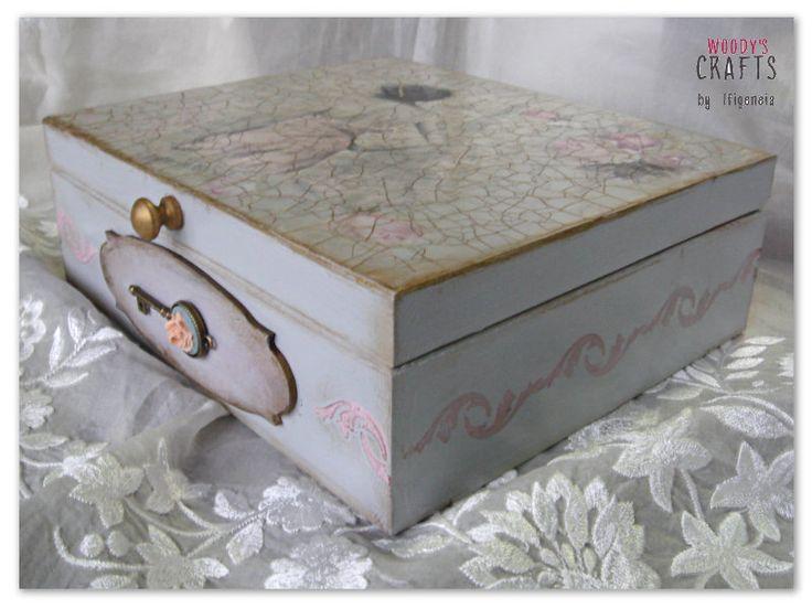 Ξύλινη Χειροποίητη Μπιζουτιέρα   Ξύλινα Κουτιά Αποθήκευσης   Woody's Crafts by Ifigeneia   Μάθε περισσότερα στη διεύθυνση: http://j.mp/woodys-crafts-gallery-bizoutieres