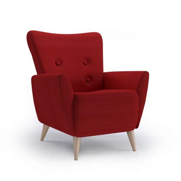 Med inspirasjon fra fortiden, tar vi denne stolenmed inn i fremtiden. Vår moderne retro stol Linnea, er bygd på solide trerammer, nozag fjærer i setet og med beste kvalitet sk