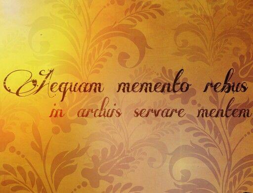 Frases en latín: significado y Breve historia [Parte II]