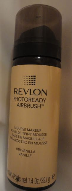 Revlon Photoready Airbrush Foundation REVIEW & VIDEO ~ The Glamorous French Housewife