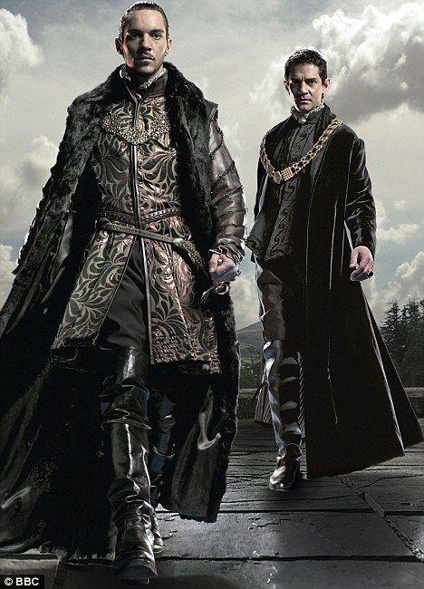 Jonathan Rhys-Meyers and James Frain