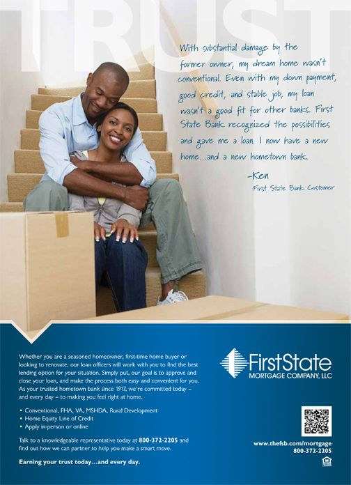 First State Bank Ad Campaign