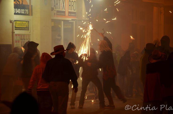 Correfoc, Festa Major Alella 2014