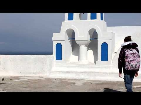 Look at what young students from Oia in Santorini created