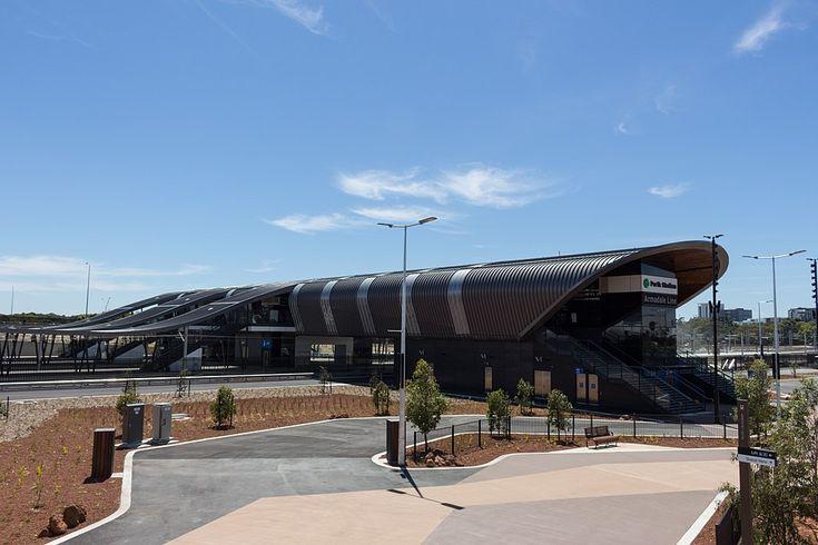 Perth Stadium railway station, December 2017 02.jpg