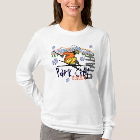 Park City Utah ladies ski elevation hoodie - tap, personalize, buy right now!