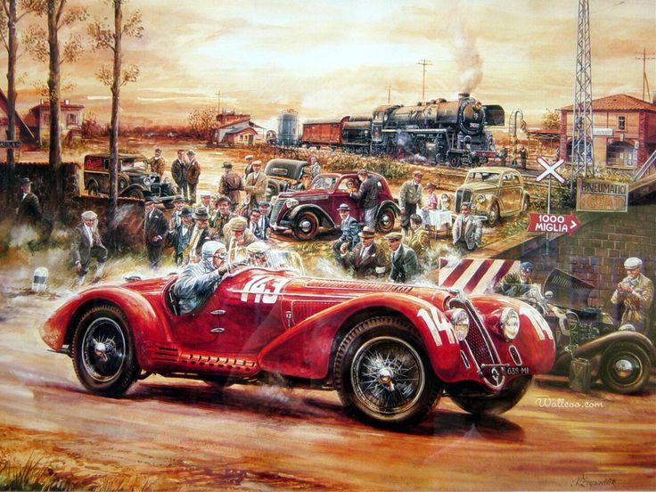 Best Rolling Artwork Images On Pinterest Automotive Art