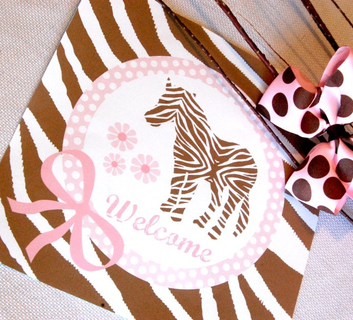 1000 ideas about zebra party decorations on pinterest for Animal print baby shower decoration ideas