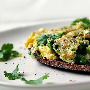 Kopřivová omeleta