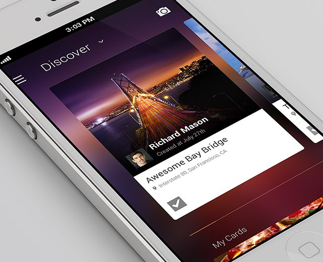 Vibin's Interface - Mobile Interface on Creattica: Your source for design inspiration
