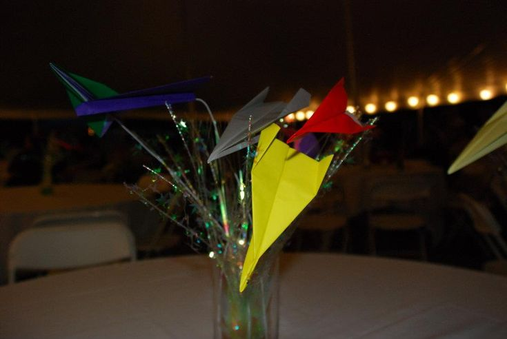 Microphone Centerpieces | Needsomething more simple or a small second cake? Check out this ...