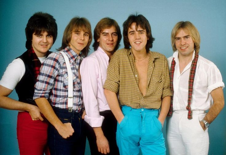 Bay City Rollers in Los Angeles in 1978