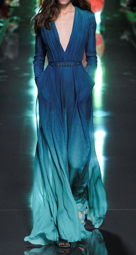 Elie Saab #dress #fashion pinterest~queeening
