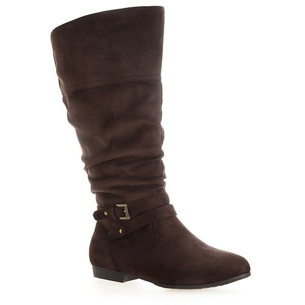 avenue fremont faux suede buckle boot 53 liked on
