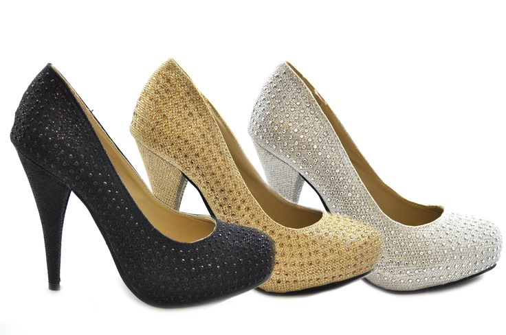 Fancy a bit of shiny for a special occasion?  Black, Gold & Silver high heel diamante court shoes for a special occasion only £19.99!!!  http://shoesdays.co.uk/collections/ladies-womens-high-heels-1