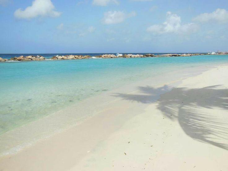 Mambo beach, -Curaçao-