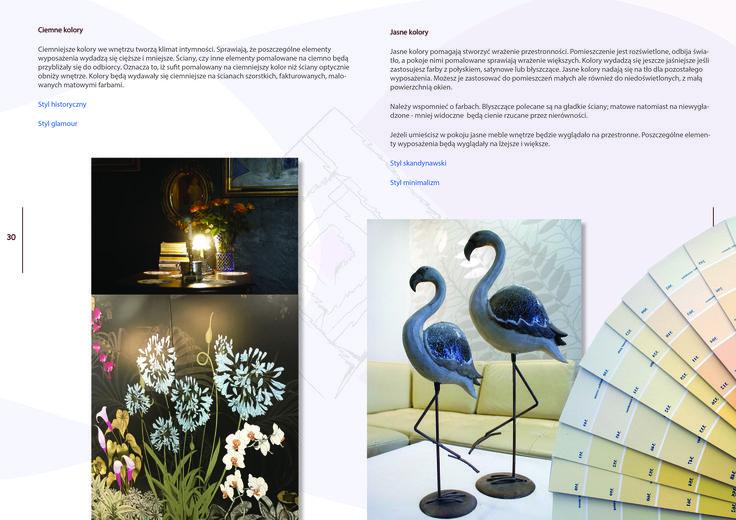 Darmowy e-book, kolory we wnętrzu