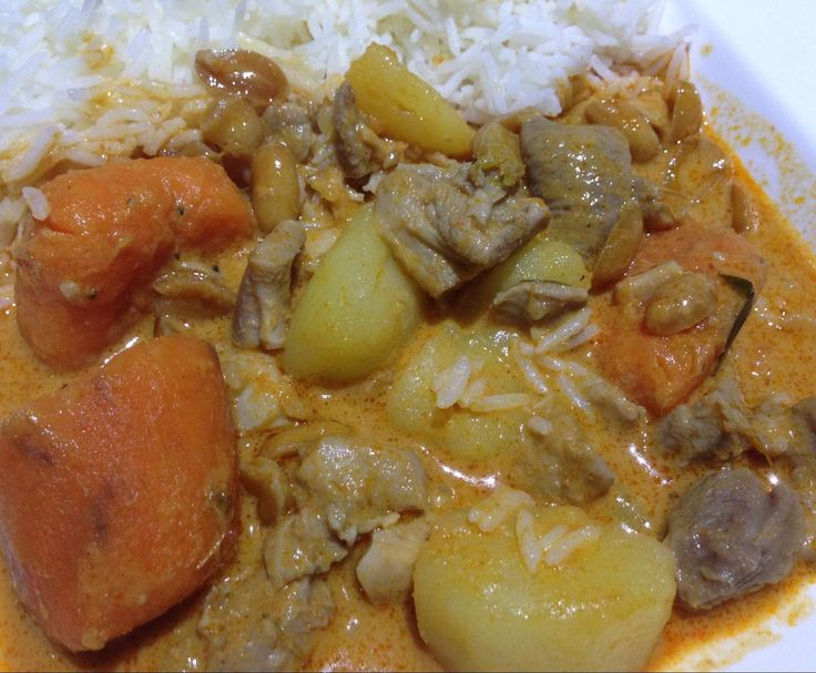 Recipe Penang Chicken Curry with Potato and Sweet Potato by specialktoday - Recipe of category Main dishes - meat