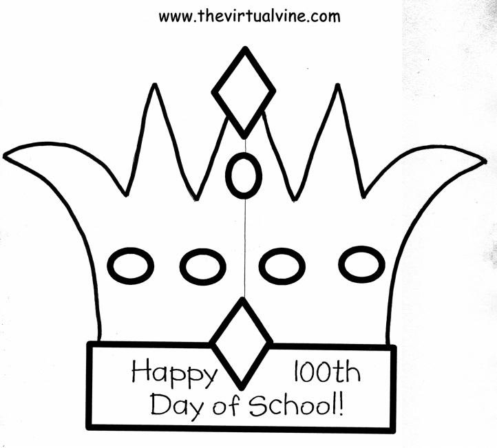 100th day hat template - 15 best images about 3rd grade 100th day of school on