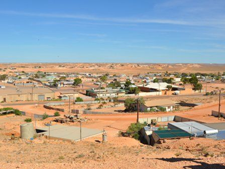 Coober Pedy: where people live underground