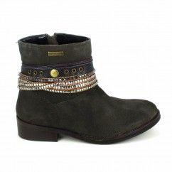 LES TROPÉZIENNES Boots Malvina Taupe