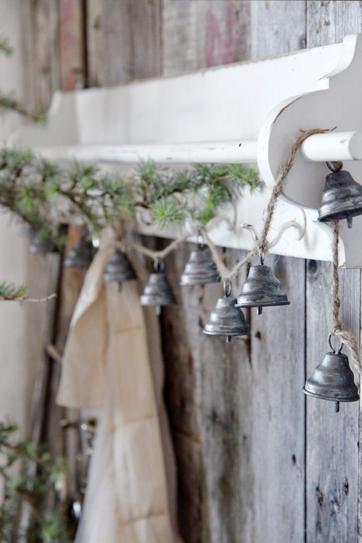 Bells, Garland, simple, Christmas Ideas, DIY Christmas