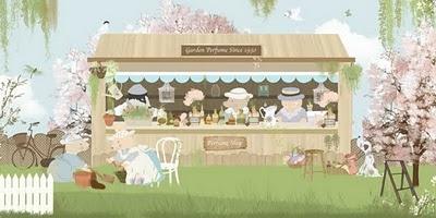 Little Hands Wallpaper - Perfume Shop