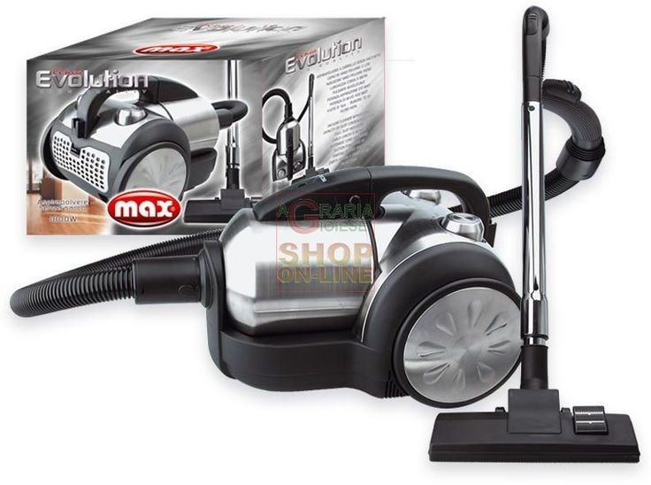 MAX ASPIRAPOLVERE TORNADO EVOLUTION http://www.decariashop.it/home/9907-max-aspirapolvere-tornado-evolution.html