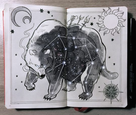 "Ursa Major, ""the great bear"" constellation 