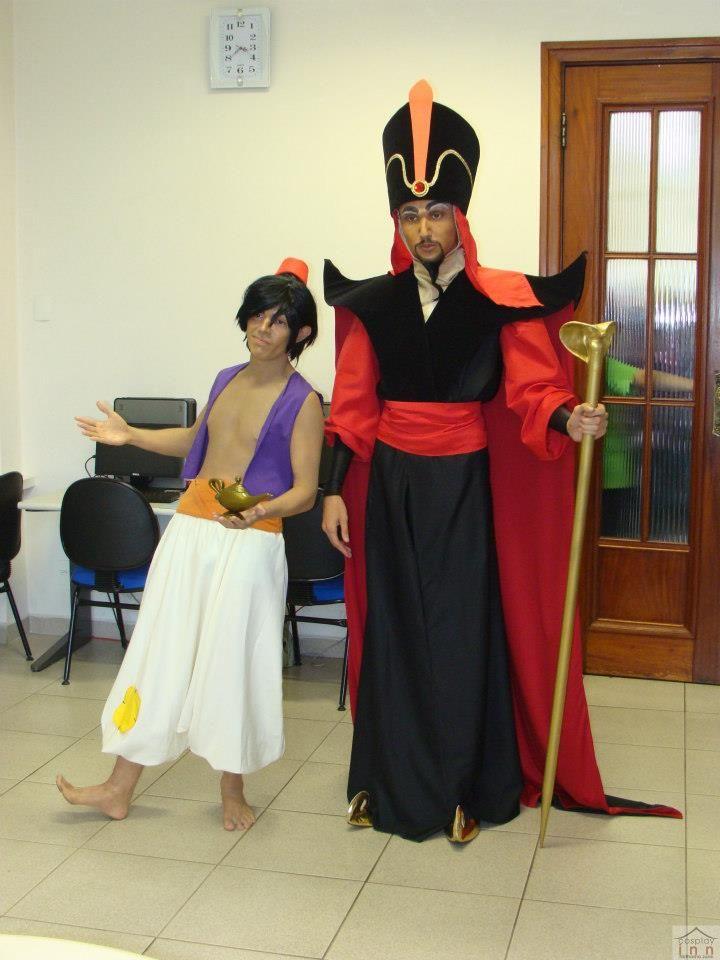 Aladdin and Jafar by jaacksays.deviantart.com on @deviantART