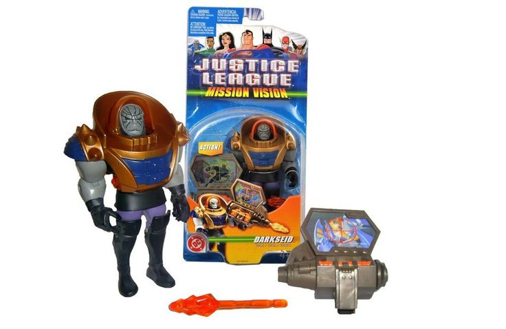 Darkseid-Justice League Mission Vision