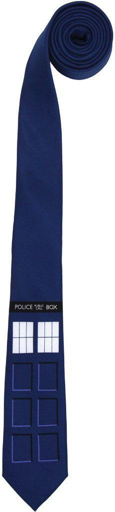 Costume Accessory: Doctor Who Tardis Skinny Tie - 1 Units