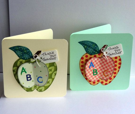 116 best images about cart es ma apple card on for Thank you crafts for teachers