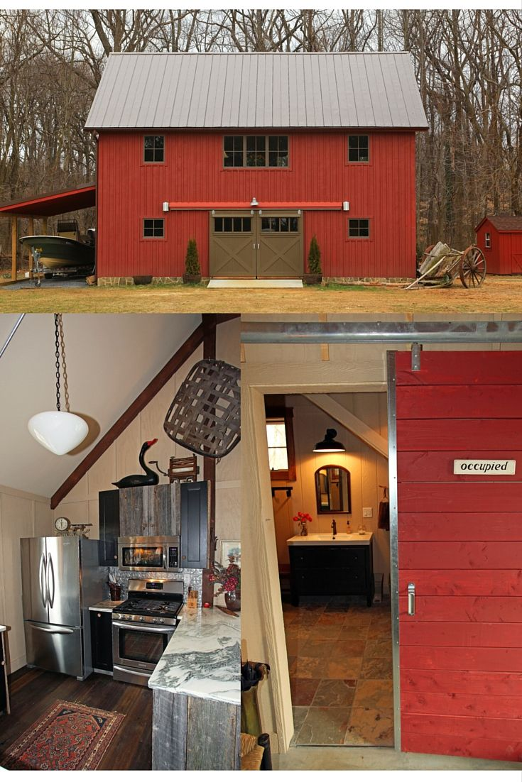 Best 25 carriage house plans ideas on pinterest garage for Barn loft apartment plans
