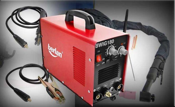 DasBerlan WIG/TIG Inverter Schweißgerät 180A - BWIG180 ist ein einfaches WIG Schweißgerät, welches für kleines Geld eine Menge bietet. Schon allein desha