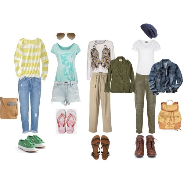 """Natural Clothing Personality Style"" by silhouetteimage on Polyvore"