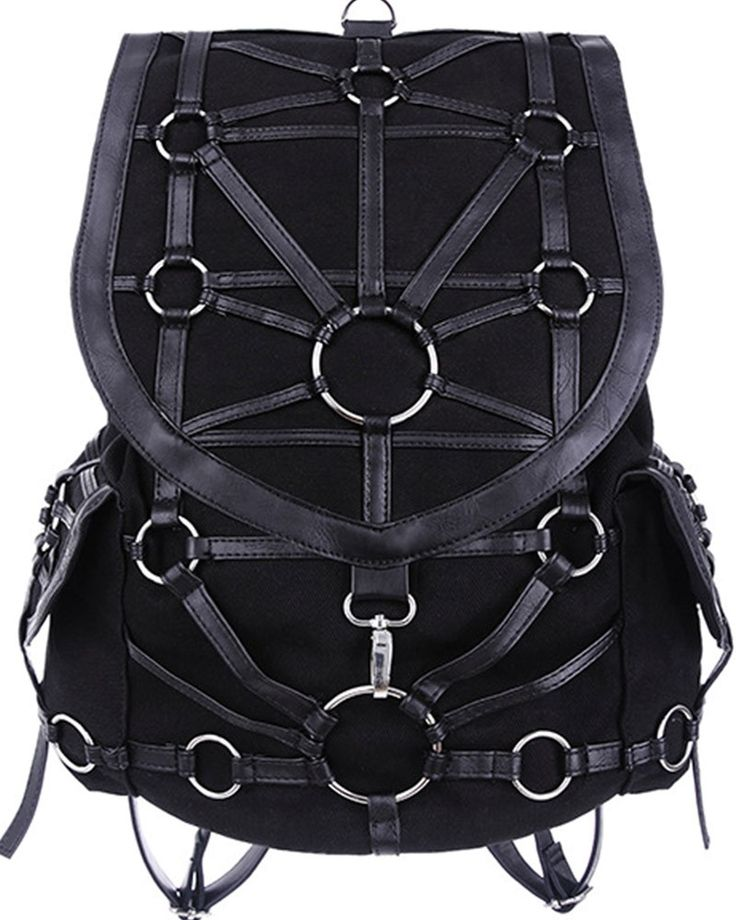 Restyle O-ring Backpack $85 Love this bag! #RoseRiot www.rose-riot.com Sign up today plus size jacket line launching fall 2016!