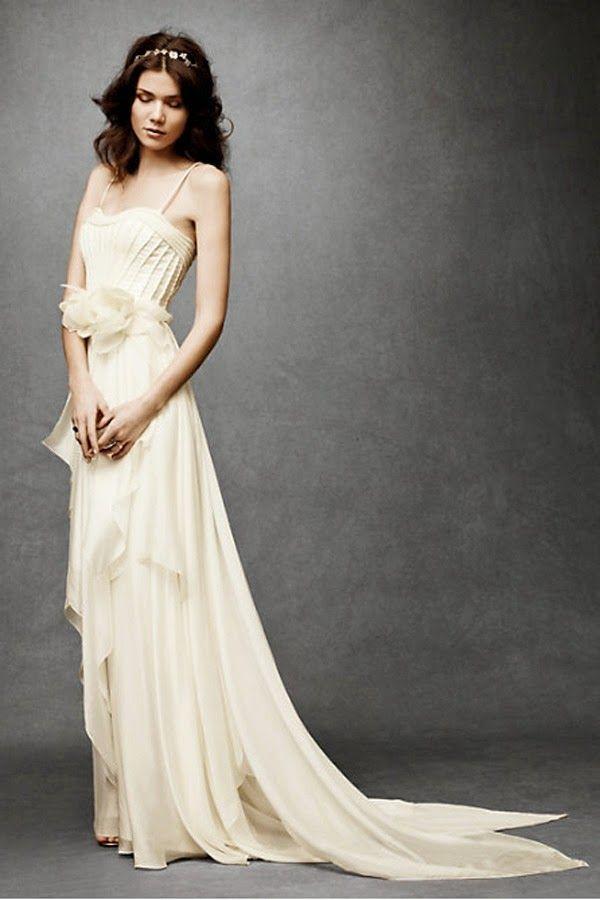 Fantásticos vestidos de novia   Colección BHLDN 2014