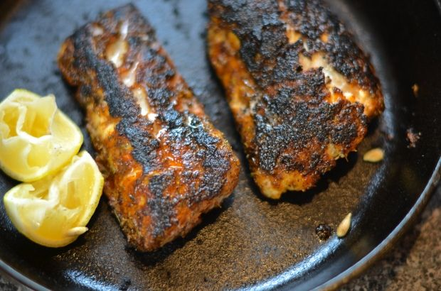 Blackened grouper. This was really delicious.
