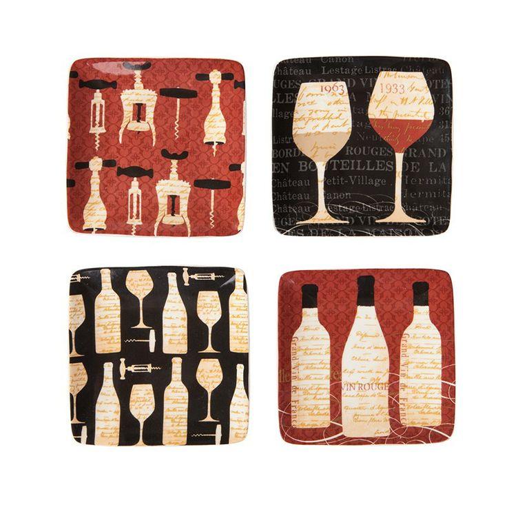 4'lü Şarap Figürlü Seramik Mini Aperatif Tabağı http://www.evdebir.com/dortlu-sarap-figurlu-seramik-mini-aperatif-tabagi.html#.UwMtpvl_tqU